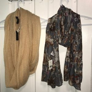 Two new scarves